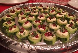 canapes apero cucumber canapés festive appetizer everything delicious