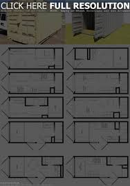 Container Homes Floor Plans Shipping Container Home Floor Plans Containers Homes Design How