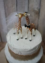cake toppers for wedding cakes giraffe wedding cake topper animal wedding cake