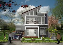 house behind design front elevation of two storey home by perth