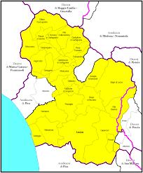 Lucca Italy Map Erzbistum Lucca U2013 Wikipedia