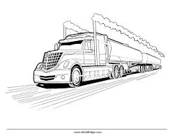 printable 37 truck coloring pages 6843 truck coloring pages