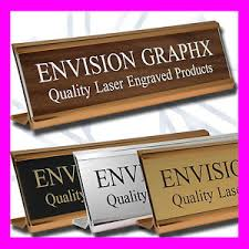 Personalized Desk Name Plates 2x8 Personalized Custom Engraved Wall Door Desk Name Plate W