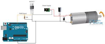arduino dc motor control tutorial l298n pwm h bridge