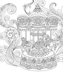 52 best coloring pages to print carousel mascarade images on