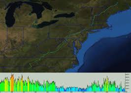 Appalachian Trail Virginia Map by Appalachian Trail Shelters