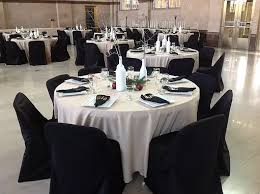 table and chair rentals ta don t buy your wedding chair covers rent them am linen rental