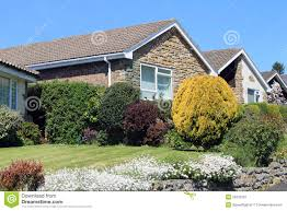 english bungalow houses stock images image 25001114