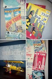 vintage nyc travel nursery the little umbrella