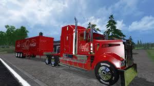 2015 kenworth truck kenworth cocacolatruck and cocacolatrailer truck v1 0 farming