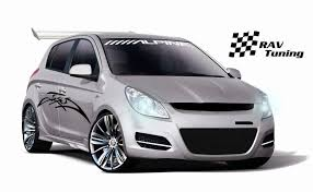 mitsubishi mirage hatchback modified rav tuning hyundai i20 mod