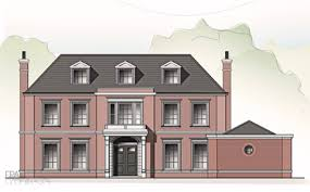 planning permission gained for a new georgian style house