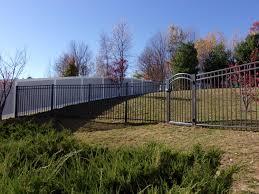 eastern ornamental aluminum fences