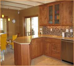 Countertops With Oak Cabinets Picture Of Kitchen Colors With Oak Cabinets And Black Countertops