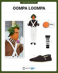 oompa loompa costume dress like oompa loompa costume and guides
