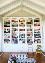 How To Build A Built In Bookcase Into A Wall Best 25 Library Bookshelves Ideas On Pinterest Library Ladder