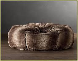 faux fur bean bag chair home design ideas