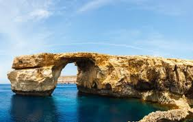 Azure Window Malta U0027s Iconic Azure Window Collapses Into The Sea The Irish News