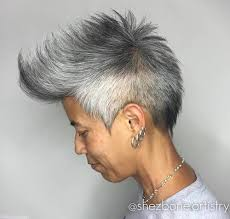 asian salt and pepper hairstyle images top 40 hottest very short hairstyles for women page 15 foliver