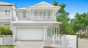 coorparoo residence a lightweight hamptons home house design