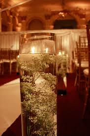 baby breath centerpieces submerged baby s breath for a winter wedding mon cheri bridals