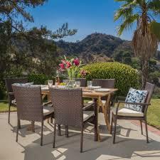 home loft concepts rincon 7 piece dining set u0026 reviews wayfair