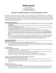 architectural project manager resume 20 business cover letter best