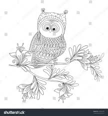 coloring owl coloring book pagesadult books for kids adults