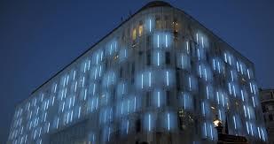 Fabulous Nuance Luxury Elegant Black Nuance Of The Lighting Hotel Facade Design