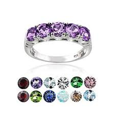 birthstone rings birthstone rings shop the best deals for nov 2017 overstock