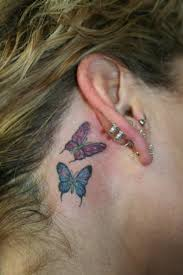ear butterfly for tattooshunt com