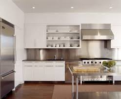 Kitchens With Stainless Steel Backsplash Stainless Steel Backsplash Kitchen With Design Hd Pictures