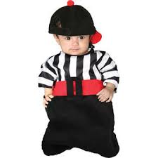 Infant Bunting Halloween Costumes Referee Foul Bunting Halloween Costume Size 0 6 Months