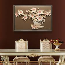 home decoration materials yisenni home decoration resin relief diy wall art painting tianye