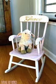 Rocking Chairs For Baby Nursery Personalized Baby Chair Personalized Baby Chair With Ottoman