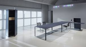 Designer Boardroom Tables Contemporary Boardroom Table Linoleum Aluminum Rectangular
