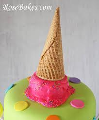 lollipops candy u0026 ice cream cake