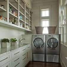 vancouver laundry room drying clerestory traditional with storage