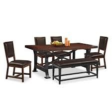 bar stools american signature furniture dining room tables glass