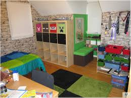 ravishing kids room designs for boys minecraft themed bedroom idea