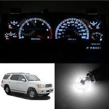 dashboard led light bulbs white speedometer instrument cluster gauge led light bulbs for 01 04