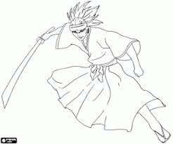 100 ideas bleach coloring pages on www excoloring us