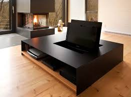 Black Living Room Tables Cool Black Living Room Design Table Traditional Country House At