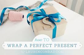 how to wrap presents how to wrap a perfect present lauren conrad