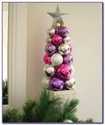 silver tabletop ornament tree girlshqpics