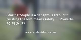 daily devotion bible verse u2013 proverbs 29 25 u2013 devotions