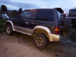 mitsubishi pajero auto diesel 4x4 4wd spares or repairs in