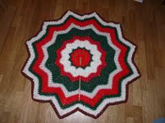 ravelry ripple tree skirt pattern by at crochetville