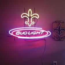 bud light neon signs for sale find more make offer reduced 150 man cave alert bud light
