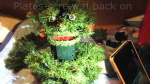 singing christmas tree with eyes cheminee website